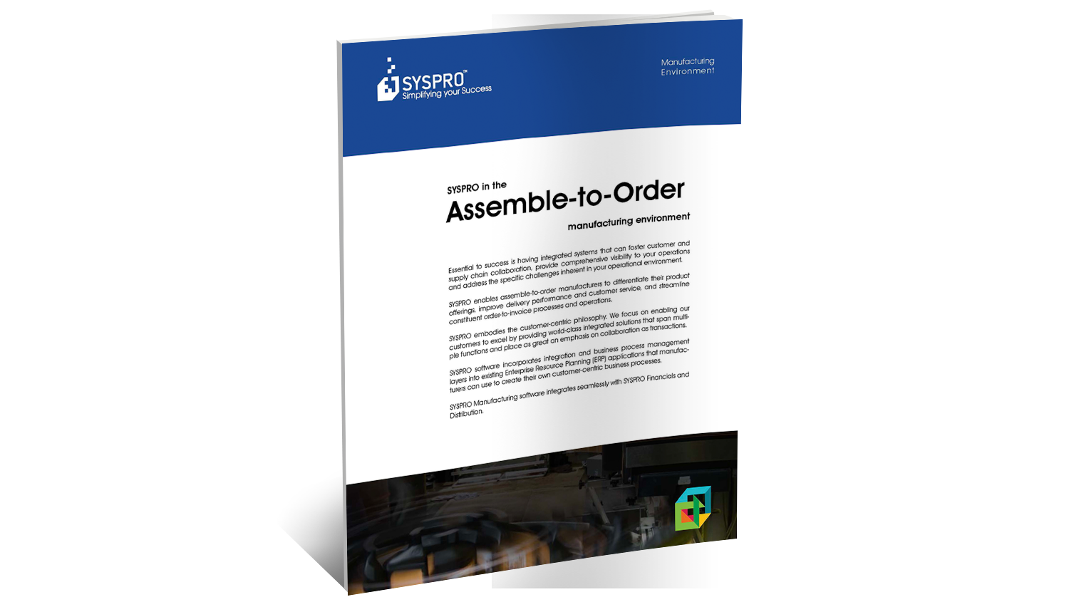 SYSPRO ERP for Assemble to Order Brochure
