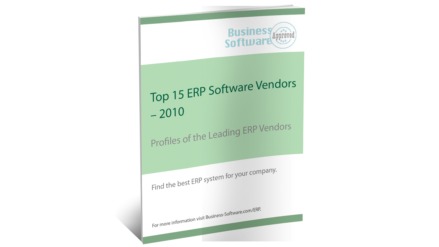 2010 BusinessSoftware.com Top ERP Software Vendors Report