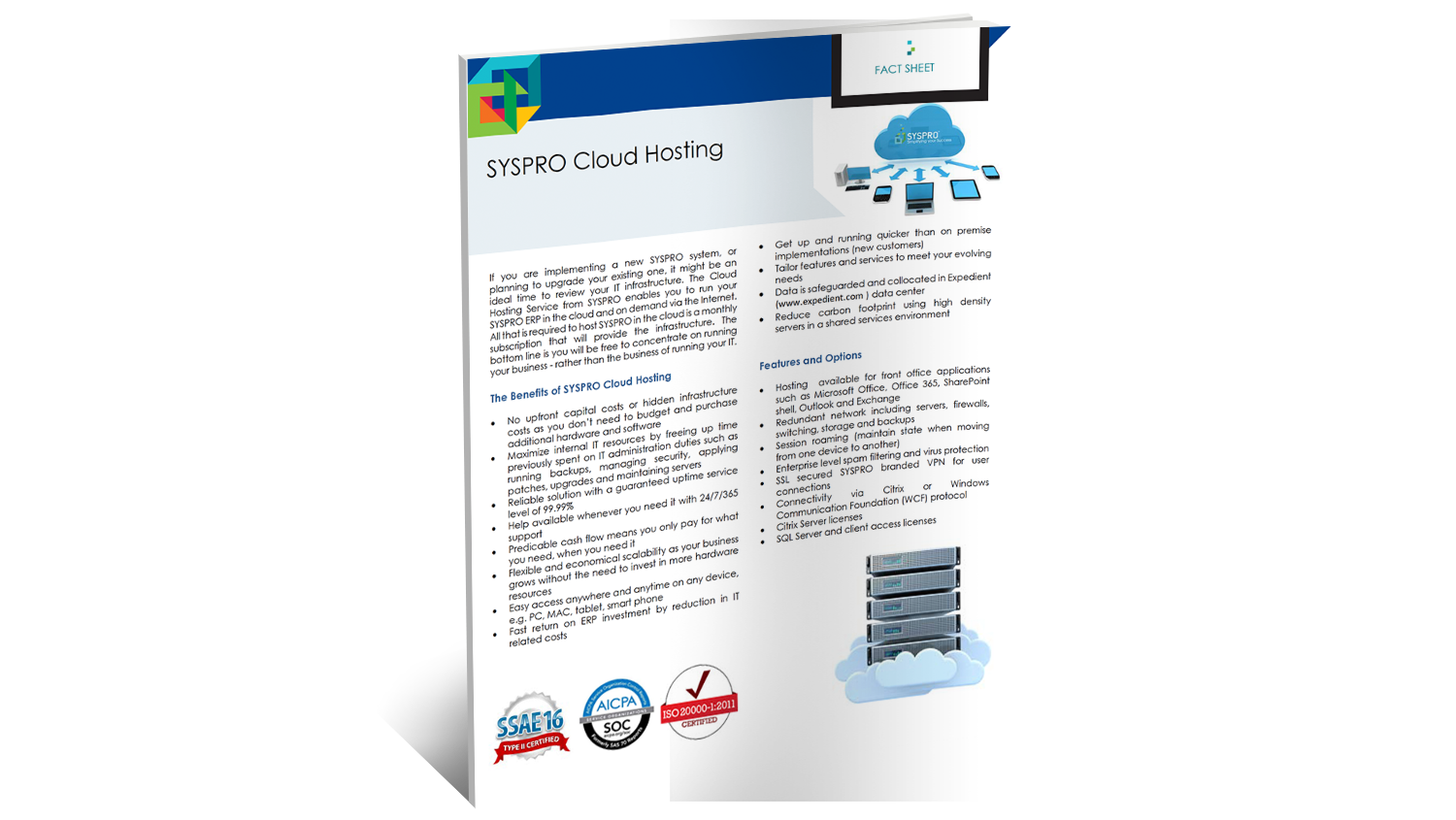 SYSPRO Cloud Services Brochure | SYSPRO ERP Software