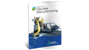 SYSPRO ERP for Discrete Manufacturing Brochure