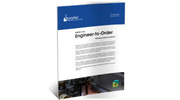 SYSPRO ERP for Engineer to Order Brochure