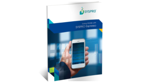 SYSPRO Espresso Mobile Solution Brochure