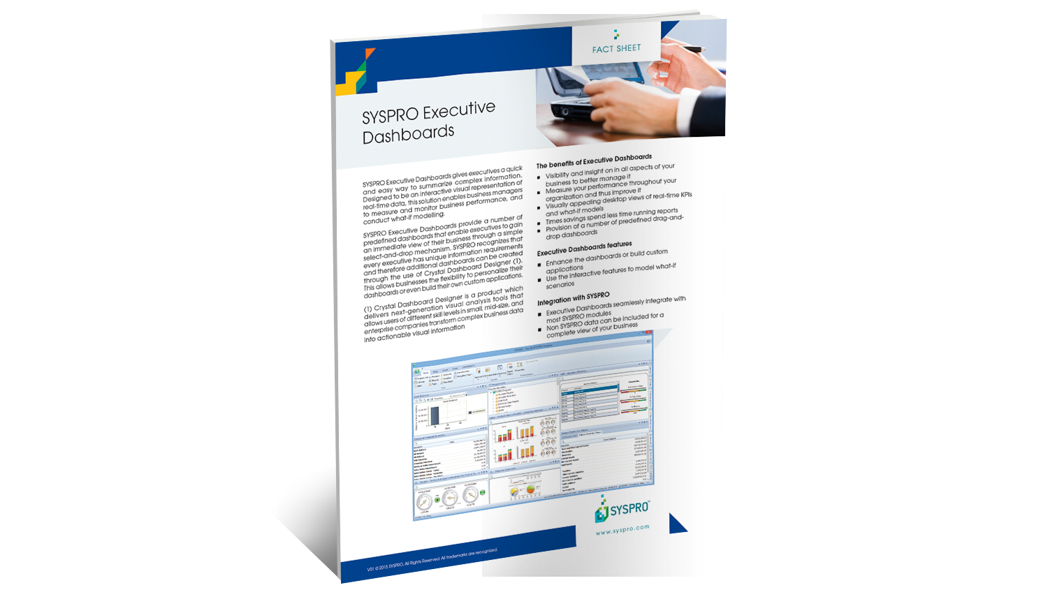 SYSPRO Executive Dashboards Brochure