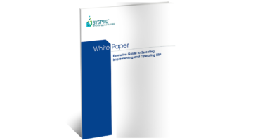 Selecting, Implementing and Operating ERP White Paper