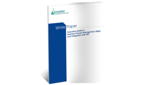 SYSPRO Business Process Management White Paper