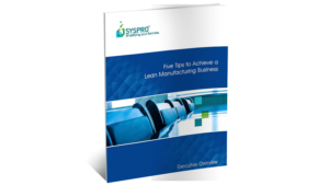 SYSPRO ERP for Lean White Paper