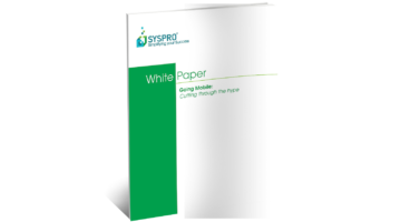 SYSPRO Mobile Technology White Paper