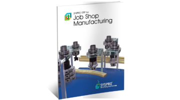 SYSPRO ERP for Job Shop Brochure