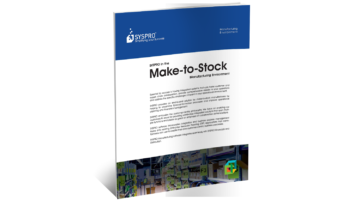 SYSPRO ERP for Make to Stock Brochure