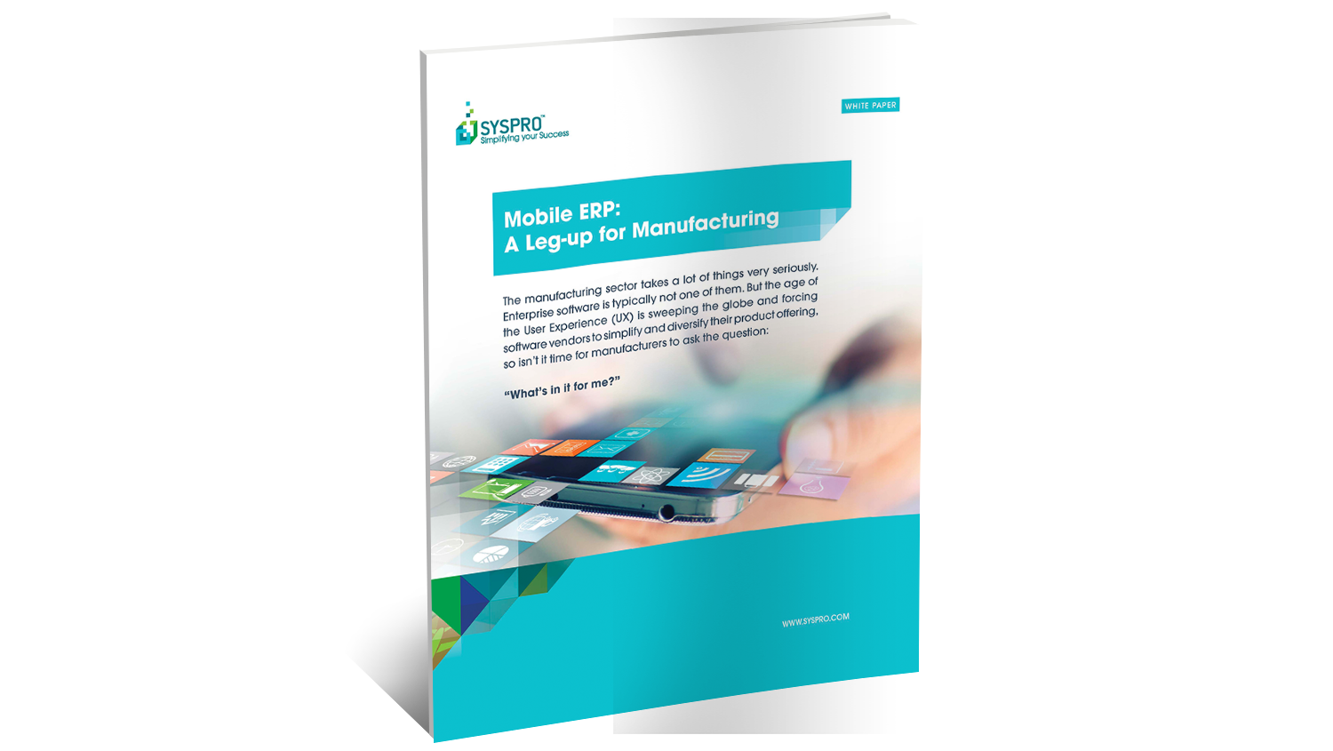 Mobile ERP for Manufacturing White Paper