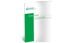 SYSPRO Cloud Computing White Paper