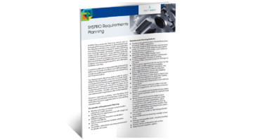 Material Requirements Planning Brochure