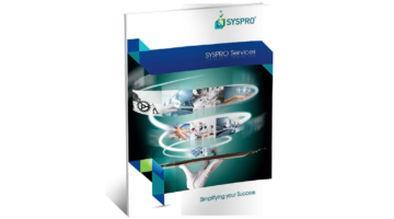 SYSPRO ERP Services Brochure