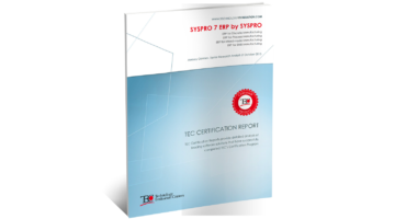 TEC SYSPRO 7 ERP Software Review