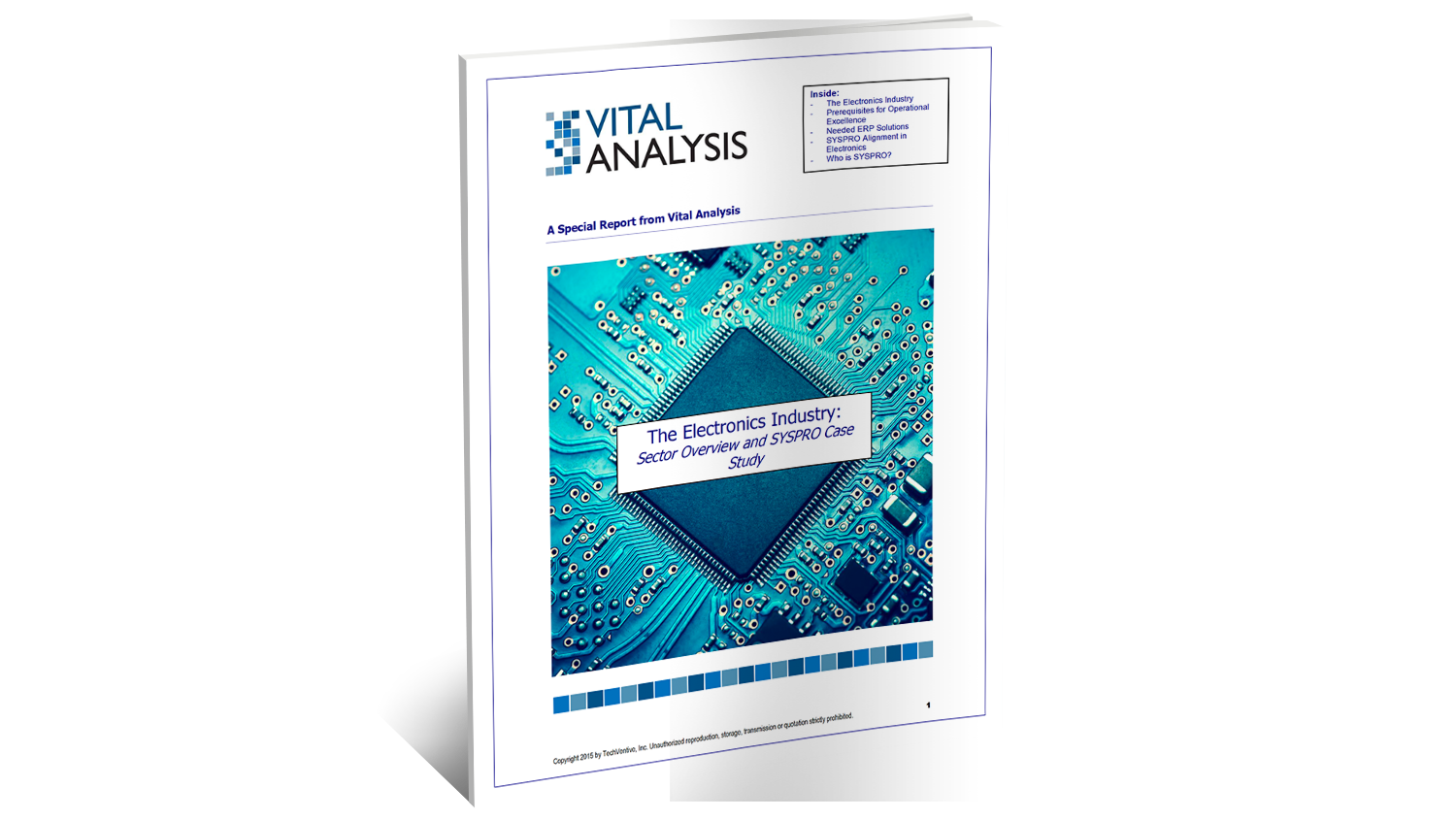 SYSPRO ERP for Electronics Analyst Report |