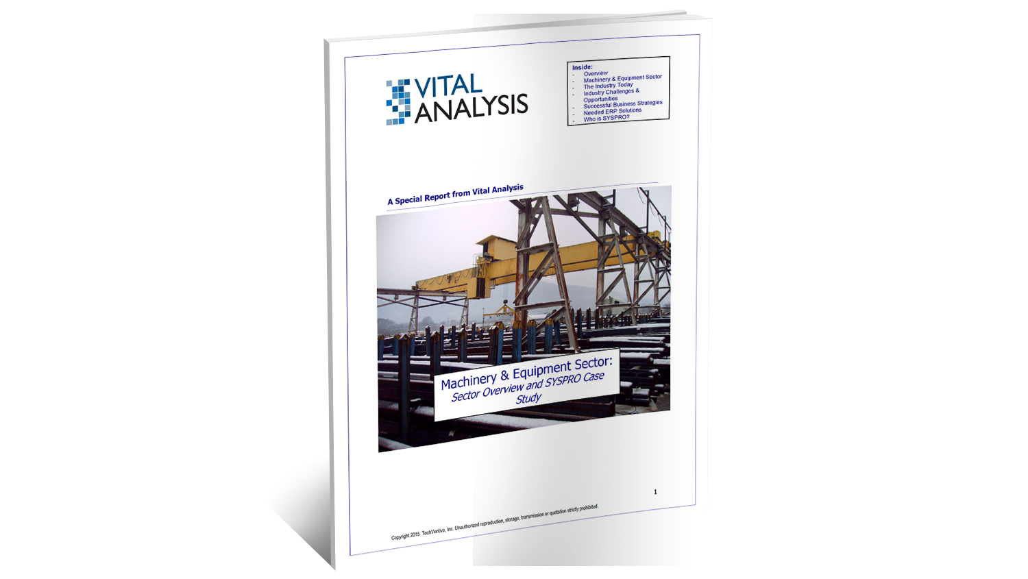 Techventive SYSPRO ERP for Machinery Analyst Report