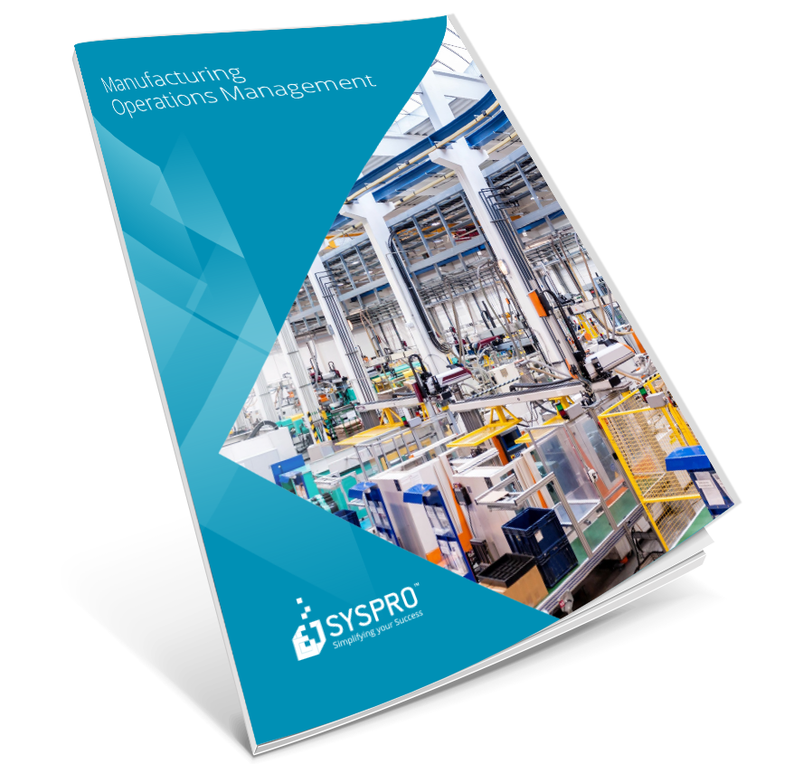 Manufacturing Operations Management Brochure - SYSPRO Corporate